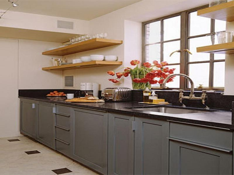 Small kitchen design photo gallery for Basic small kitchen designs