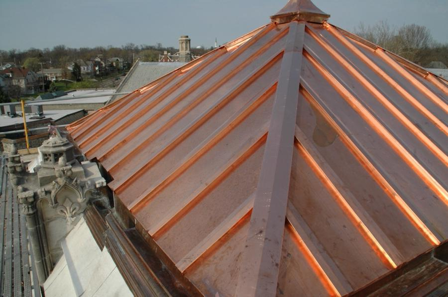 Copper Roof Photo