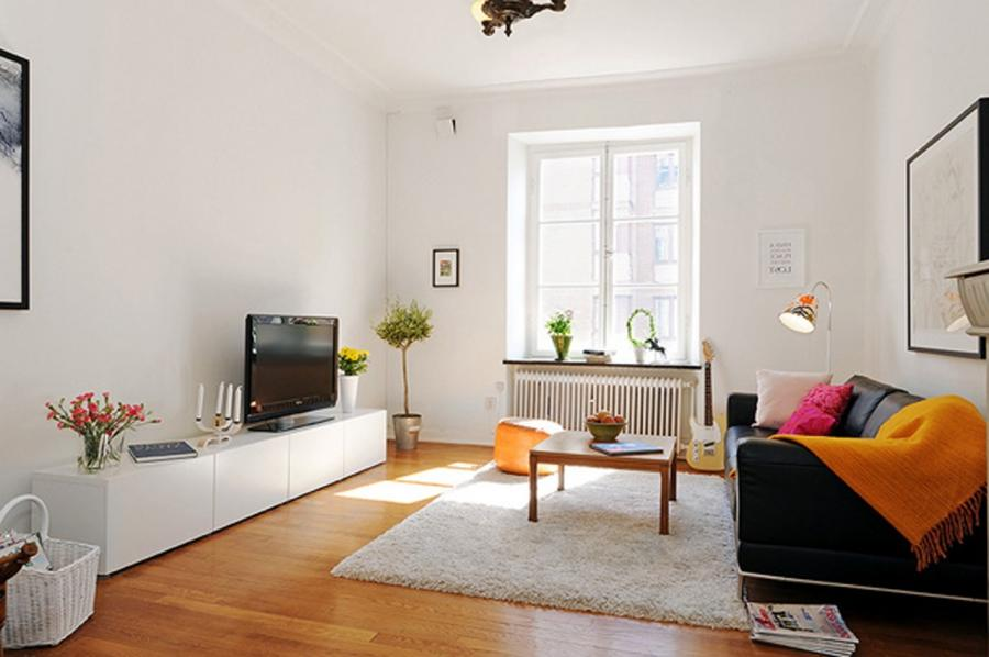 Classy Cheerful Gothenburg Apartment Decorated listed in:...