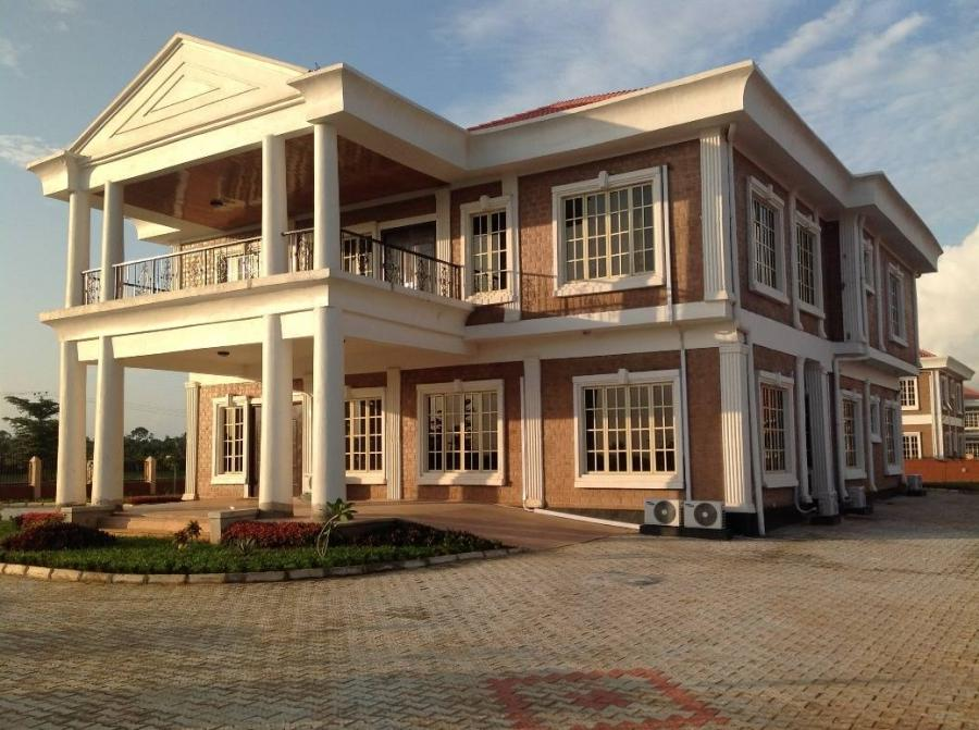 Photos of beautiful houses in nigeria for Nigeria houses pictures