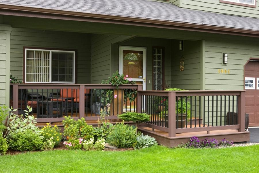 Simple confidence u2013 create the perfect front porch that fits...