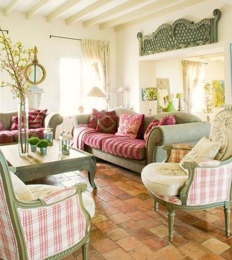 Country decorated room photos - Decoration maison de campagne chic ...