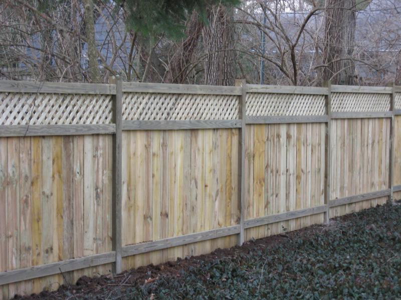 Privacy Fence Wood Lattice Photos