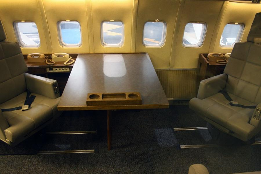 Photos Of The Interior Of Air Force One