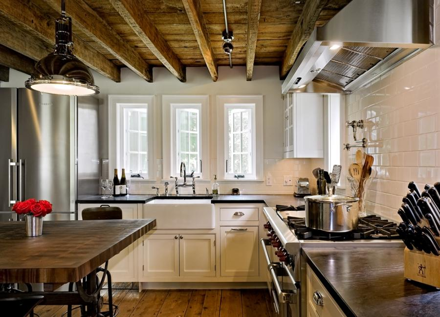 Exposed Ceiling Beams Photos