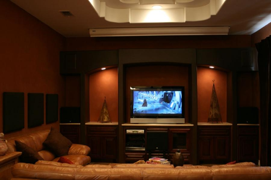 Home Theater Media Room Photos
