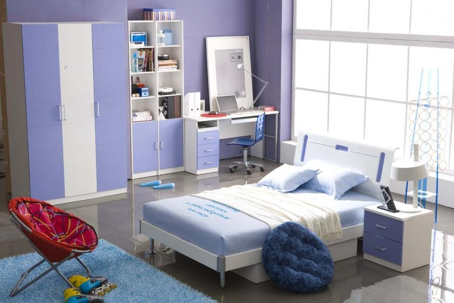 Fantastic Blue Bedroom listed in: Bedroom Decorating Ideas...