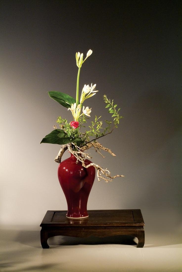 Chinese Flower Arrangement Photos