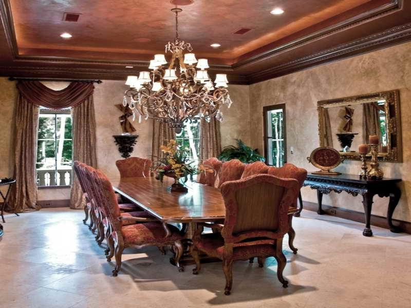 Formal dining room decorating photos for Formal dining room wall decor