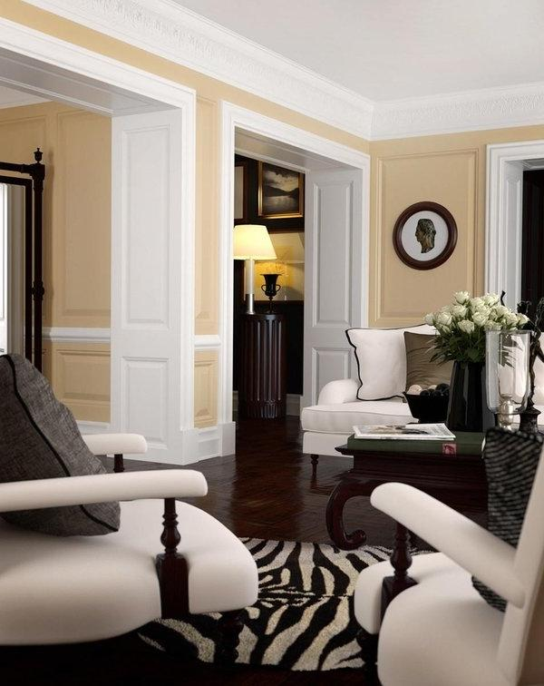 classic living room by Denis u0026middot; traditional interior...