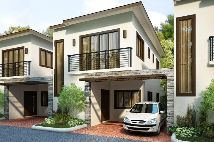 Simple cheap 2 story house design cebu joy studio design for Cheap two story houses