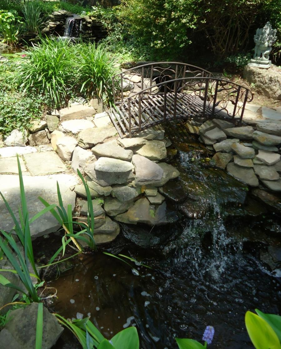 Landscaping Ponds And Waterfalls: Garden Ponds Waterfalls Photos