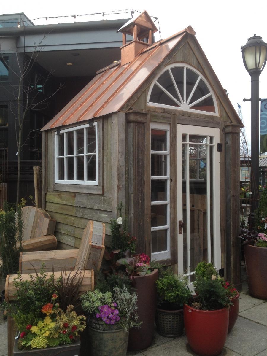 Photos Of Rustic Garden Sheds