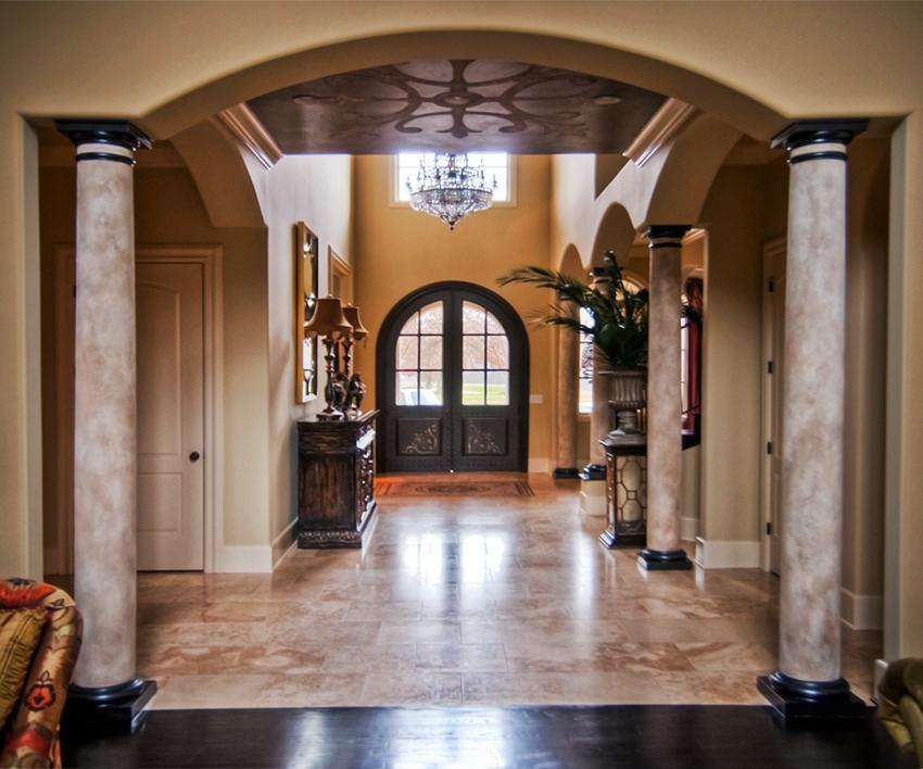 Interior Column Designs Photos