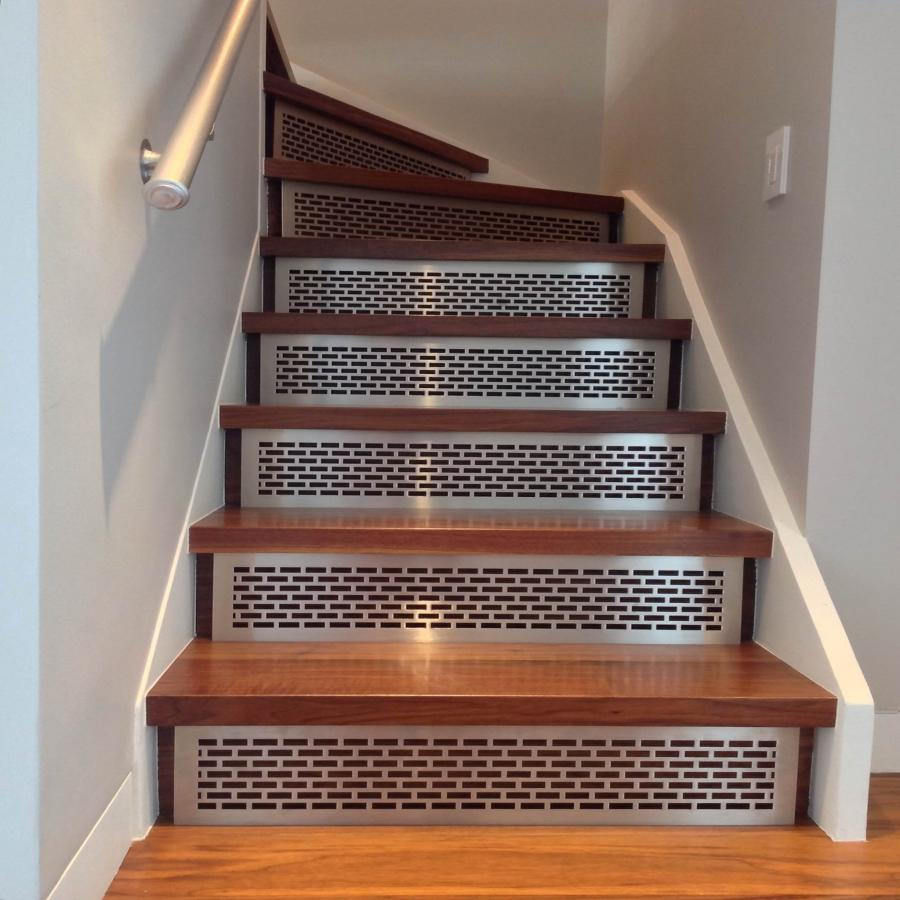 58 Cool Ideas For Decorating Stair Risers: Stair Riser Photos