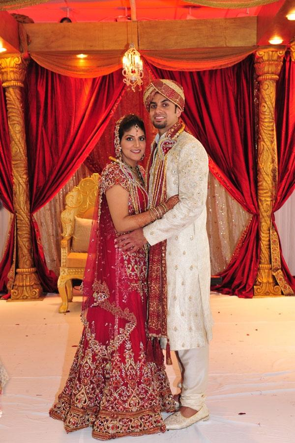 Indian Bride Groom Photo Shoot