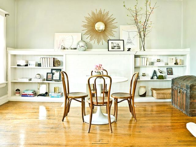 Photographers. The Everygirl eclectic-dining-room