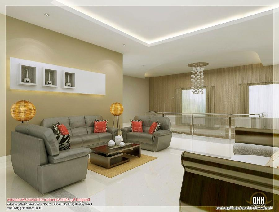 ... Living room interior design ...