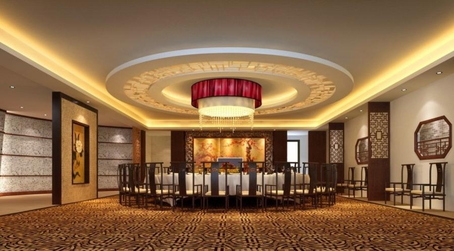 Home Interior : Luxury Ceiling Droplight Chinese Restaurant...