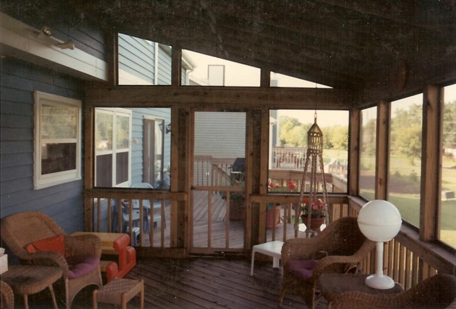 Screened Porch Interior Photos