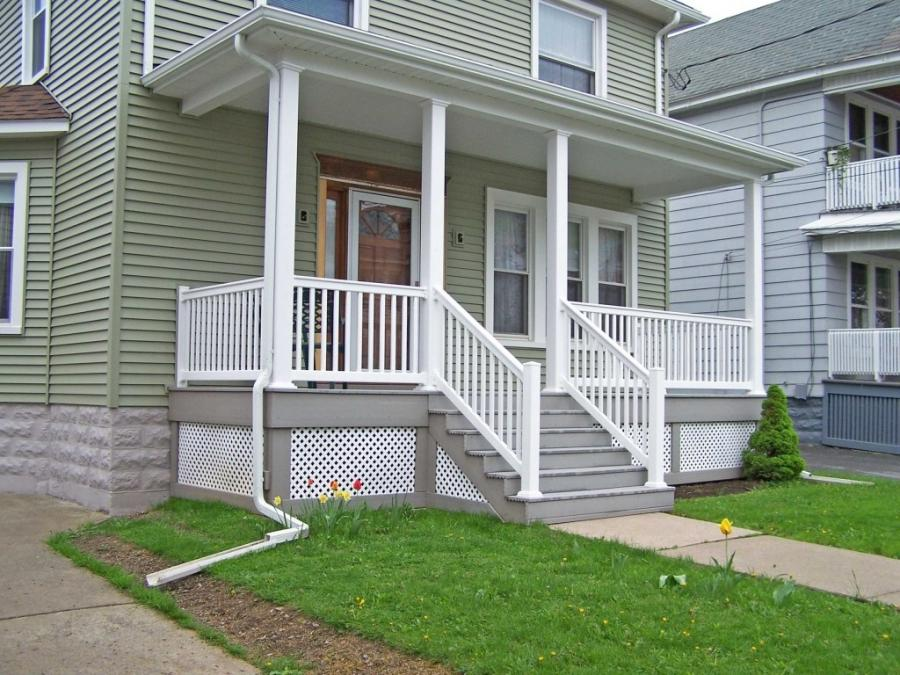 beautiful front porch railing decorating ideas with good...
