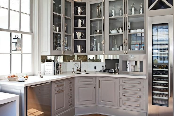 Veranda - kitchens - Benjamin Moore - Galveston Gray - Gwyneth...