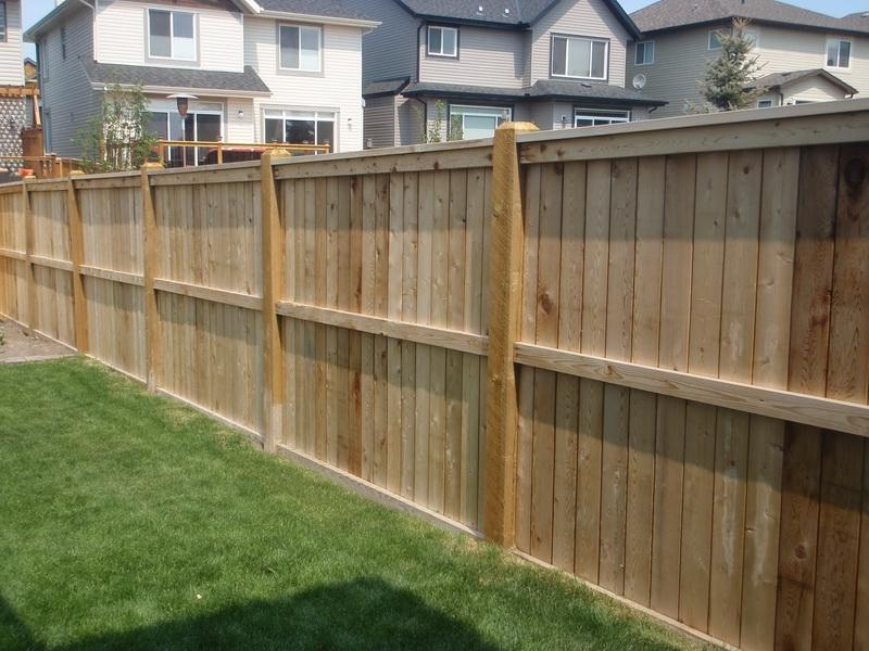Wood Fence Designs Photos