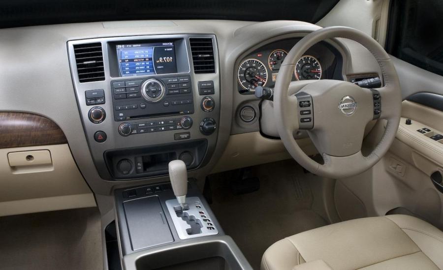 2006 Nissan Armada Interior Photos