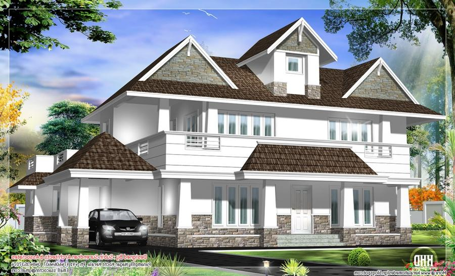 New Model House In Kerala Photos