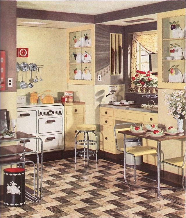 1930s home interiors photos for 1930s style kitchen design