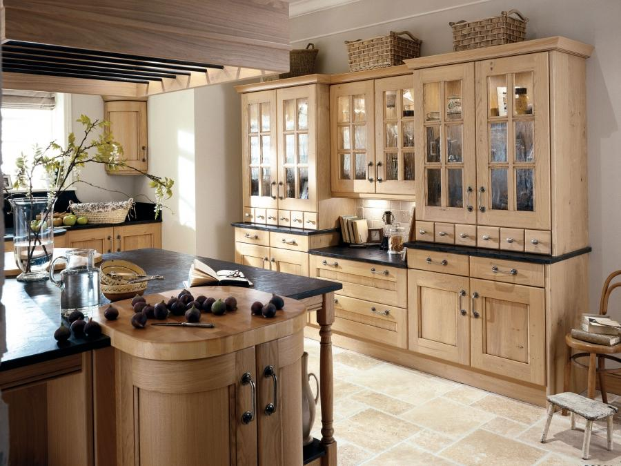 terrific style of country kitchen designs: country kitchens
