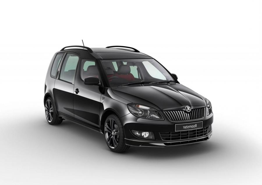 Skoda Roomster Noire - photo gallery
