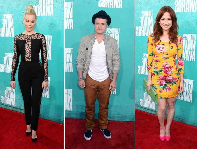 Celebrities On The Red Carpet MTV Movie Awards 2012 (4)