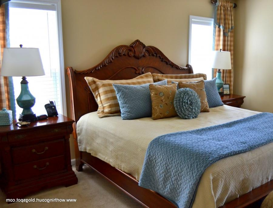 Photos of blue and brown bedroom for Blue and brown master bedroom ideas