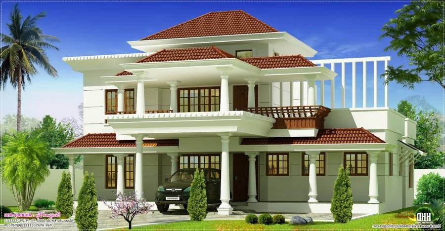 Kerala new house models photo for New model house photos