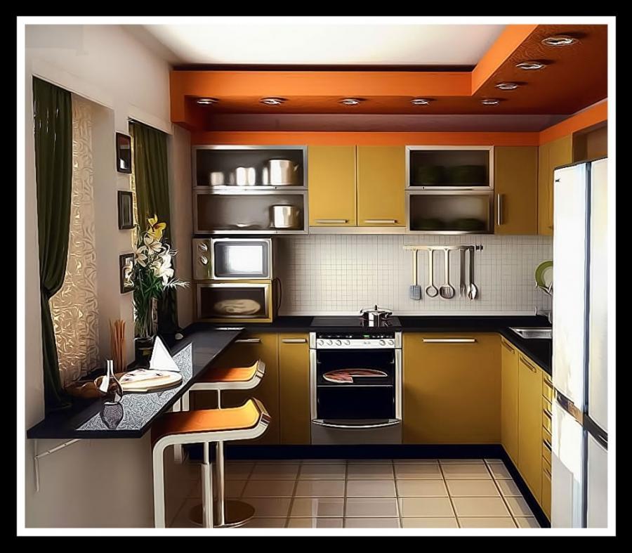 79 Простой дизайн кухни