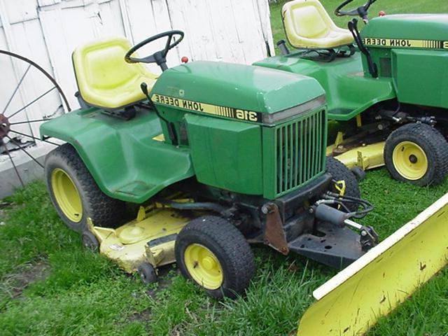 John deere garden tractor photos - Used garden tractors for sale by owner ...