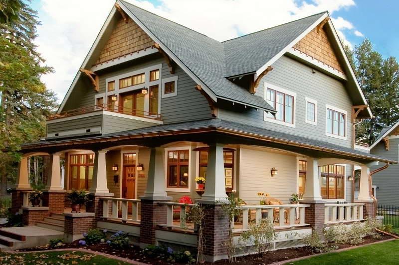 craftsman style house photos
