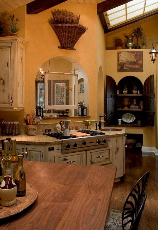 Country french kitchen designs photos for French kitchen design