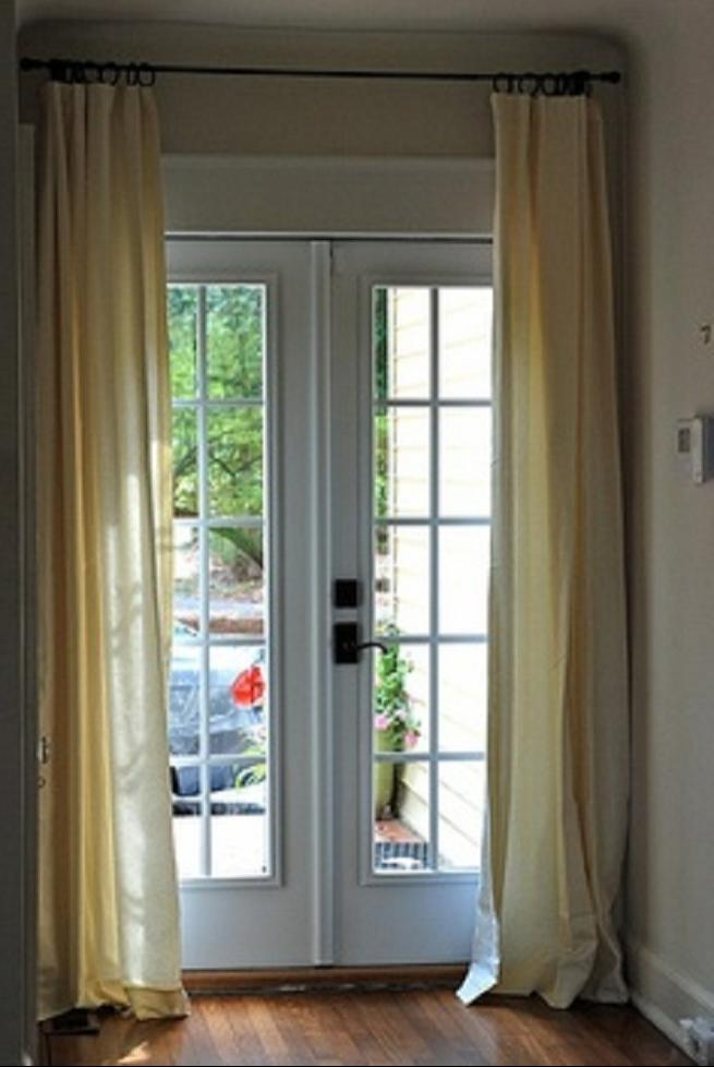 window treatments french door drapes french door blinds french...
