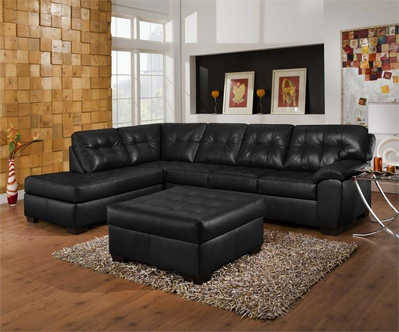 Decorating With Black Leather Furniture Photos