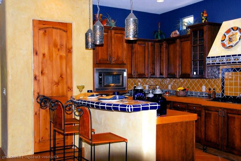 Photos of mexican style kitchens for Mexican kitchen designs photos