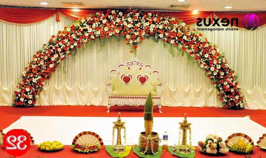 wedding stage decorations Royal Wedding Stage Decoration The...
