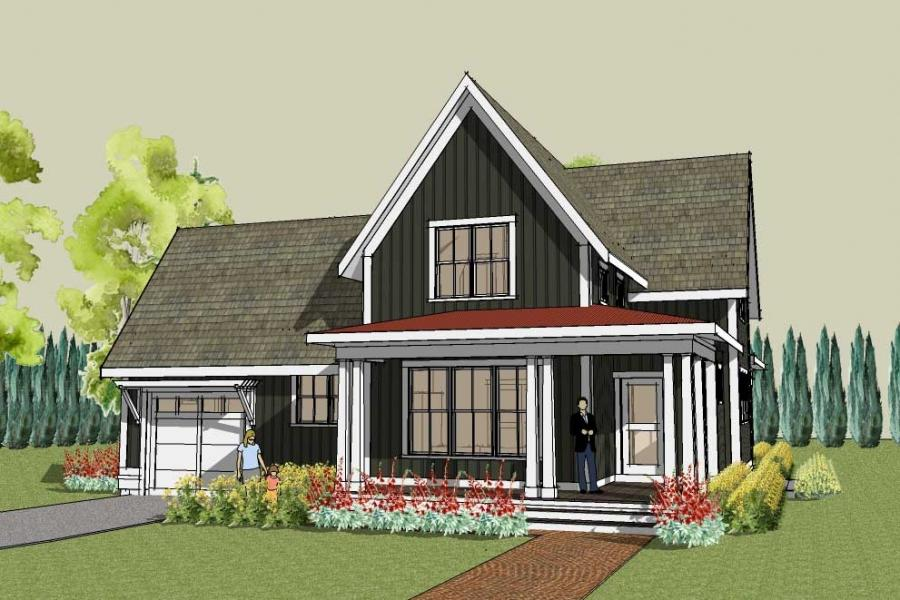 country house plans and photos