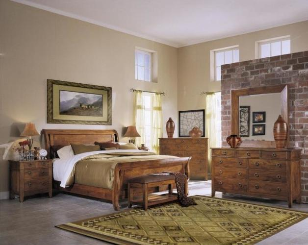 Chic Rustic Bedroom Family Room Farmers Home Furniture Source