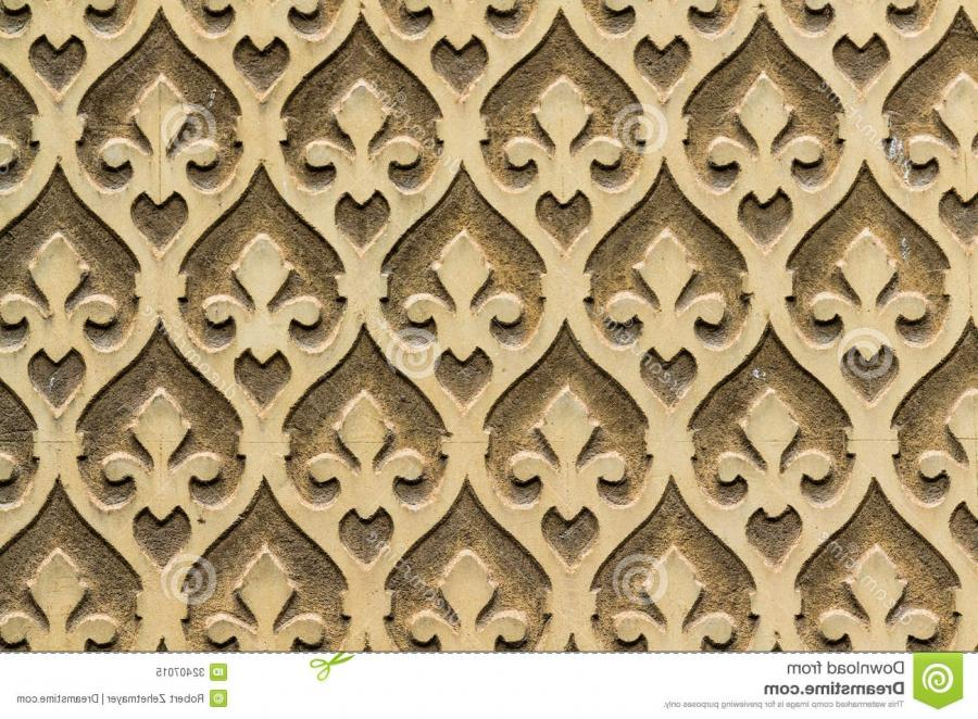 Moorish floral wall decoration