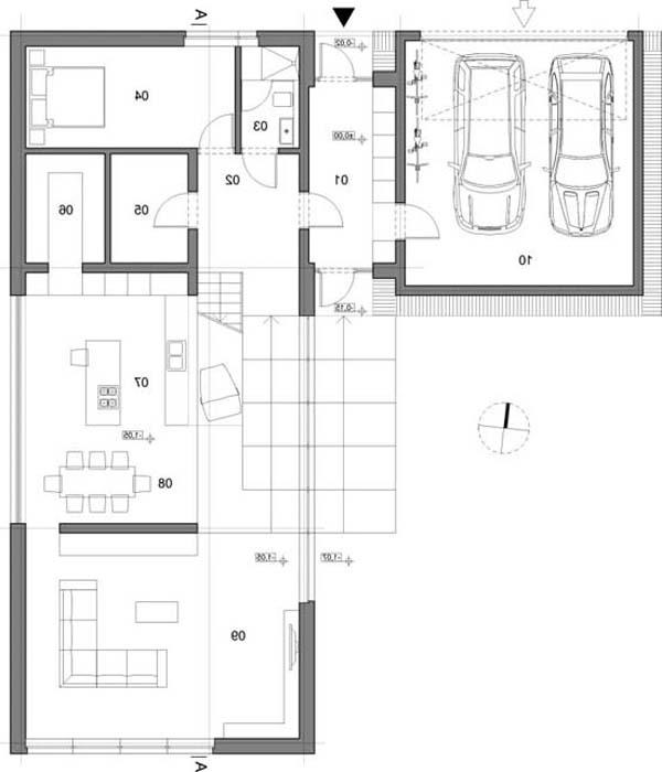 Single family house plans photos Polish house plans