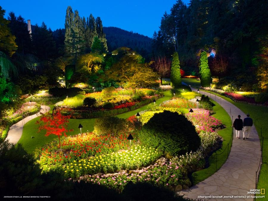 Butchart gardens october photos - What time does victoria gardens close ...