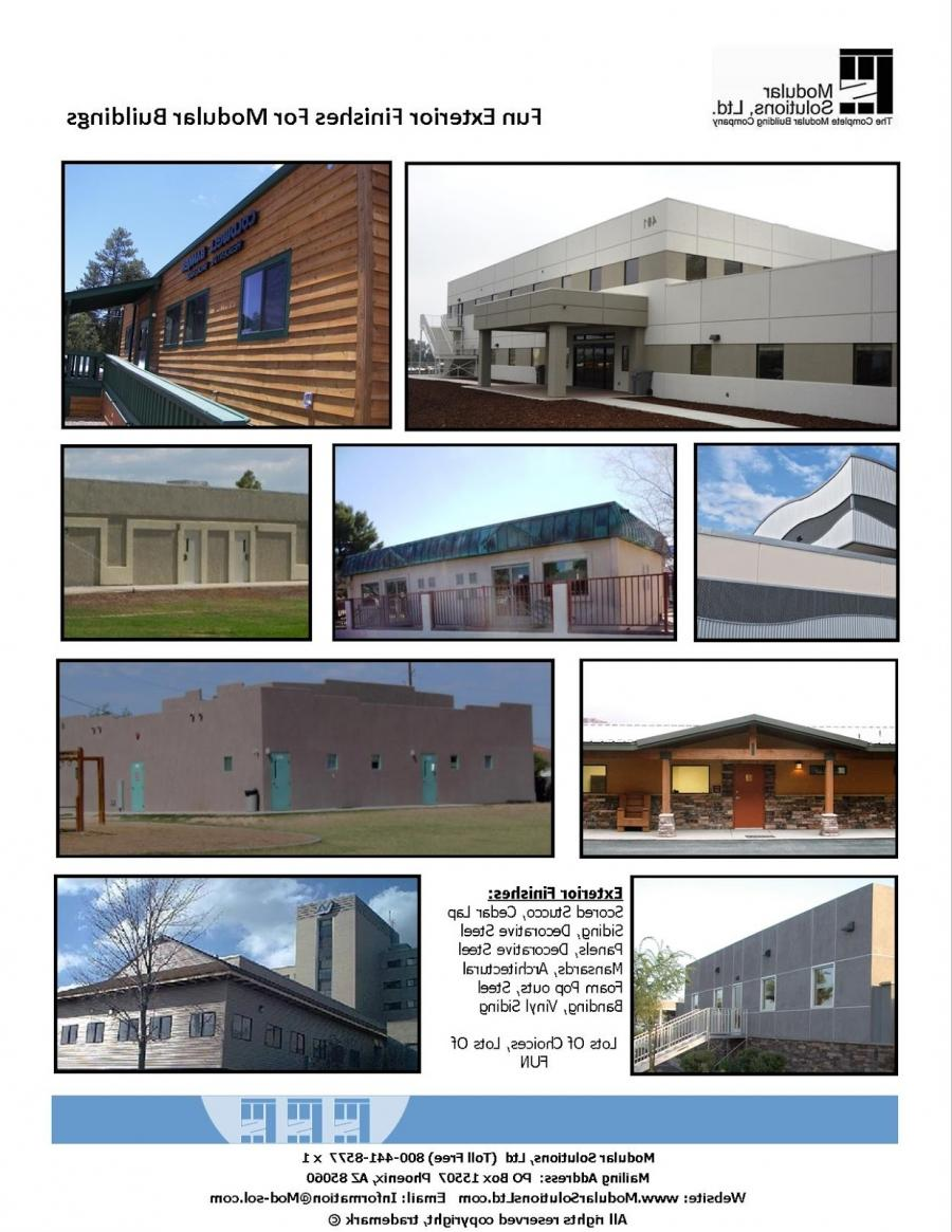 Photo cement siding finishes