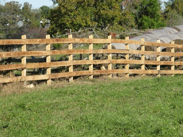 Post And Rail Fence Photos